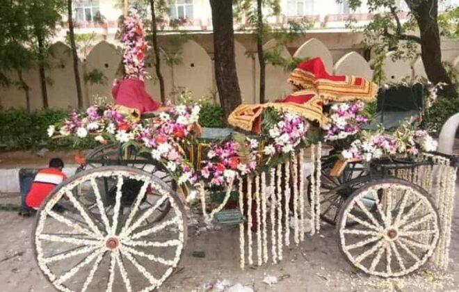 chariot for baraat by rajdhani band