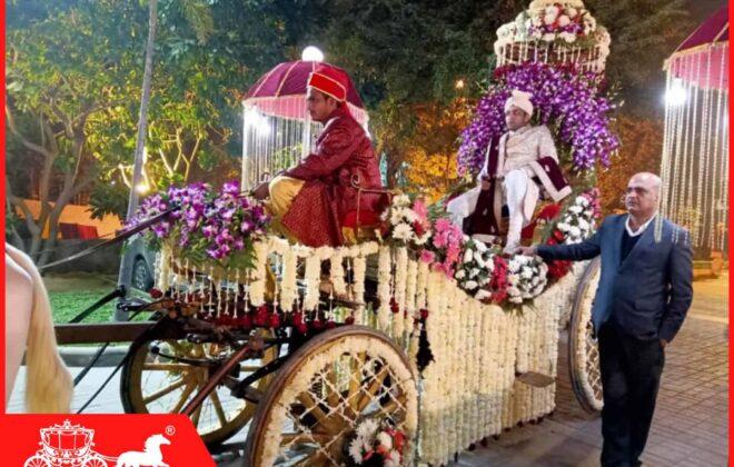 bridegroom on baggi