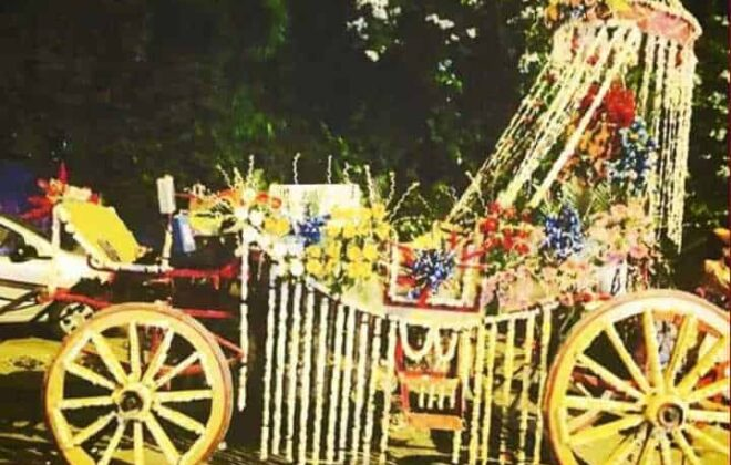 decorated chariot