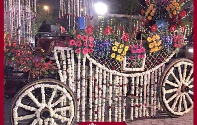 flower baggi for baraat
