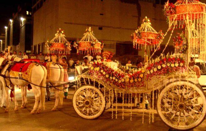 flower chariot